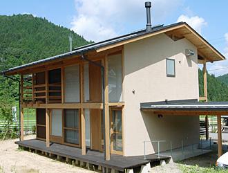 根羽村(杉風の家)